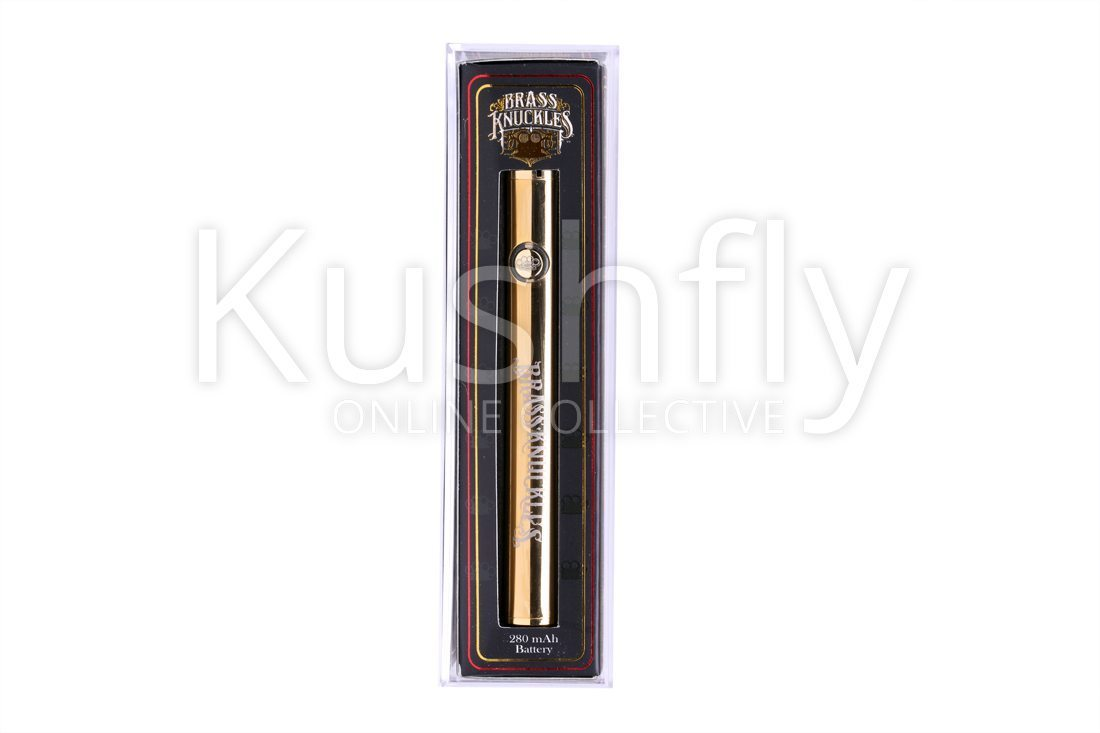 Brass Knuckles Vape Battery Delivery and Information