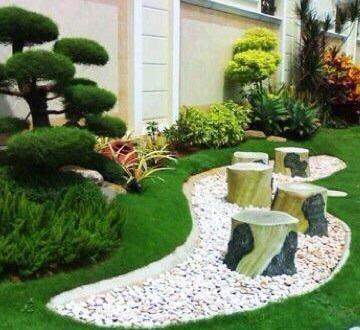 طرق تنسيق حدائق منزلية و ترتيب و إعادة هيكلة الحدائق