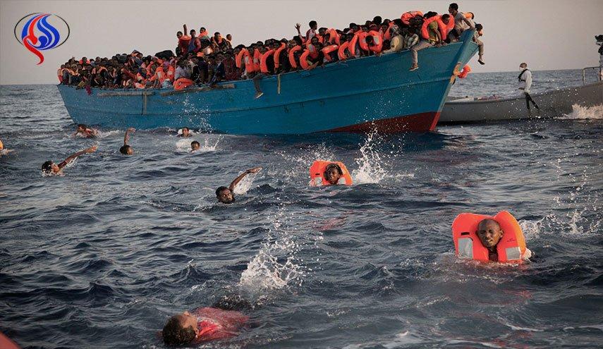 وفاة الشاب (التهامي) غرقاً بليبيا من ضمن 60 شخصاً حاولوا العبور لفرنسا