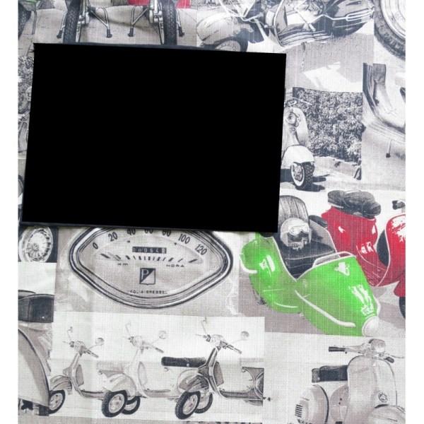 Delantal infantil de motos