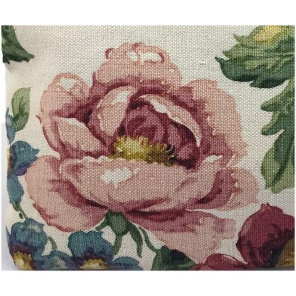 Tapicería rosas