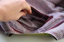 handbag round rosali pockets