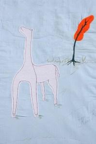 Quilt Dawid, detail giraf big