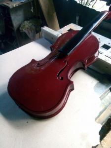 Sir Edgar R. Rabago's Made to order 4/4 Violin (retrieved from Sir ERR's FB)