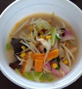 野菜たっぷりたっぷり食べるスープの画像