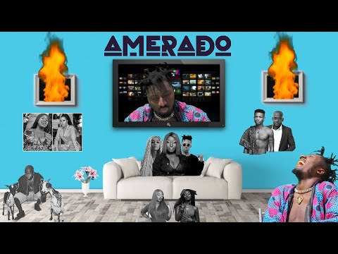 Amerado – Yeete Nsem Intro Ft Eno Barony, Sista Afia, Freda Rhymz, Medikal, Sister Derby & Strongman (Official Video)