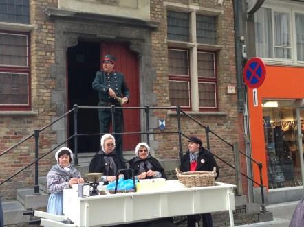 De theaterwandeling in Blankenberge