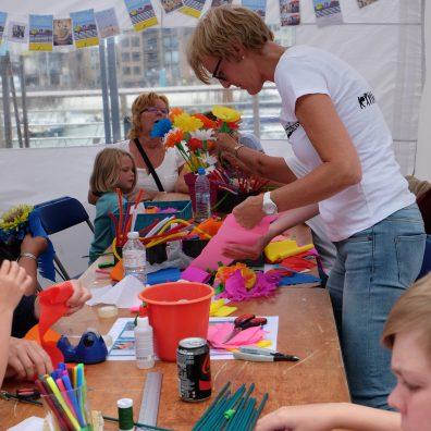 Workshop in Blankenberge op 7 augustus 2016