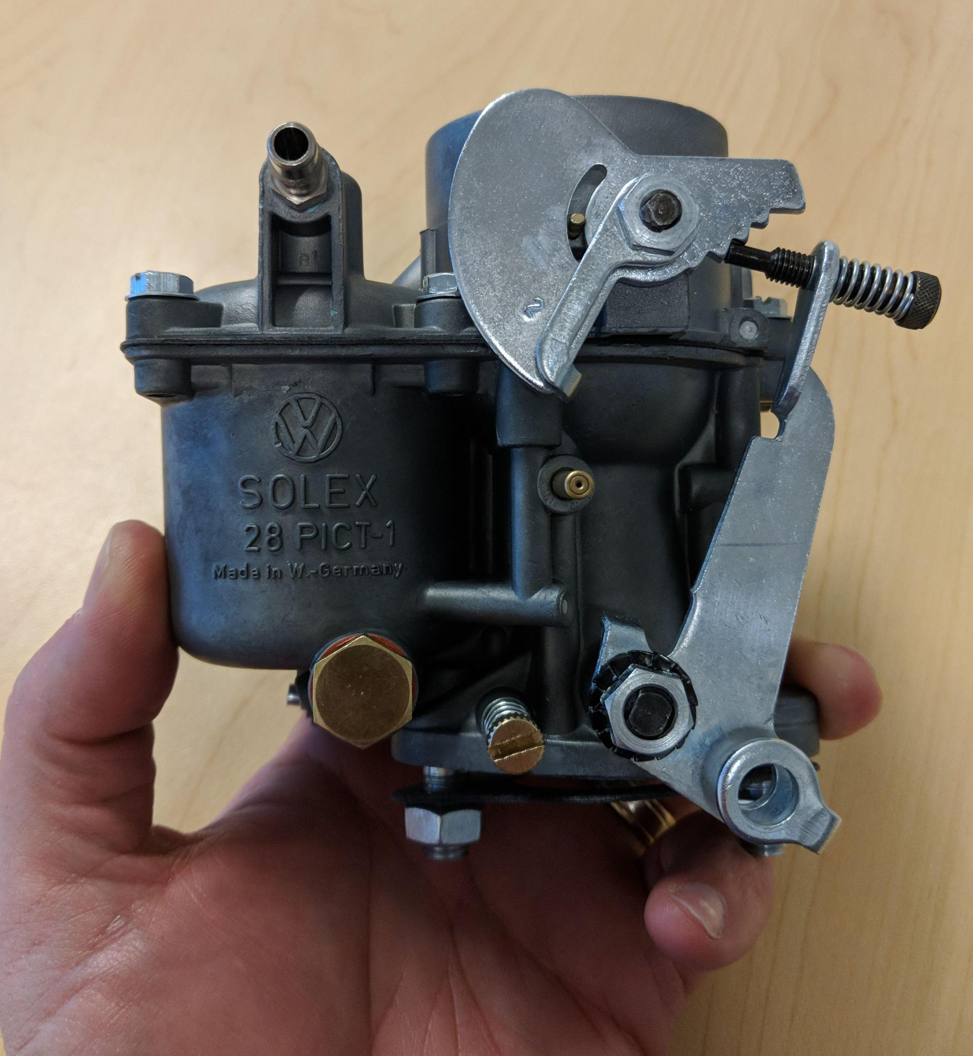 hight resolution of carburetor question