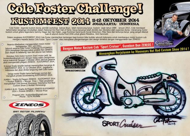 Cole Foster Challenge KUSTOMFEST 2014 - ZENEOS