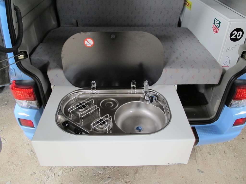 Finally released T4T5 rear cooker and sink cabinet  VW