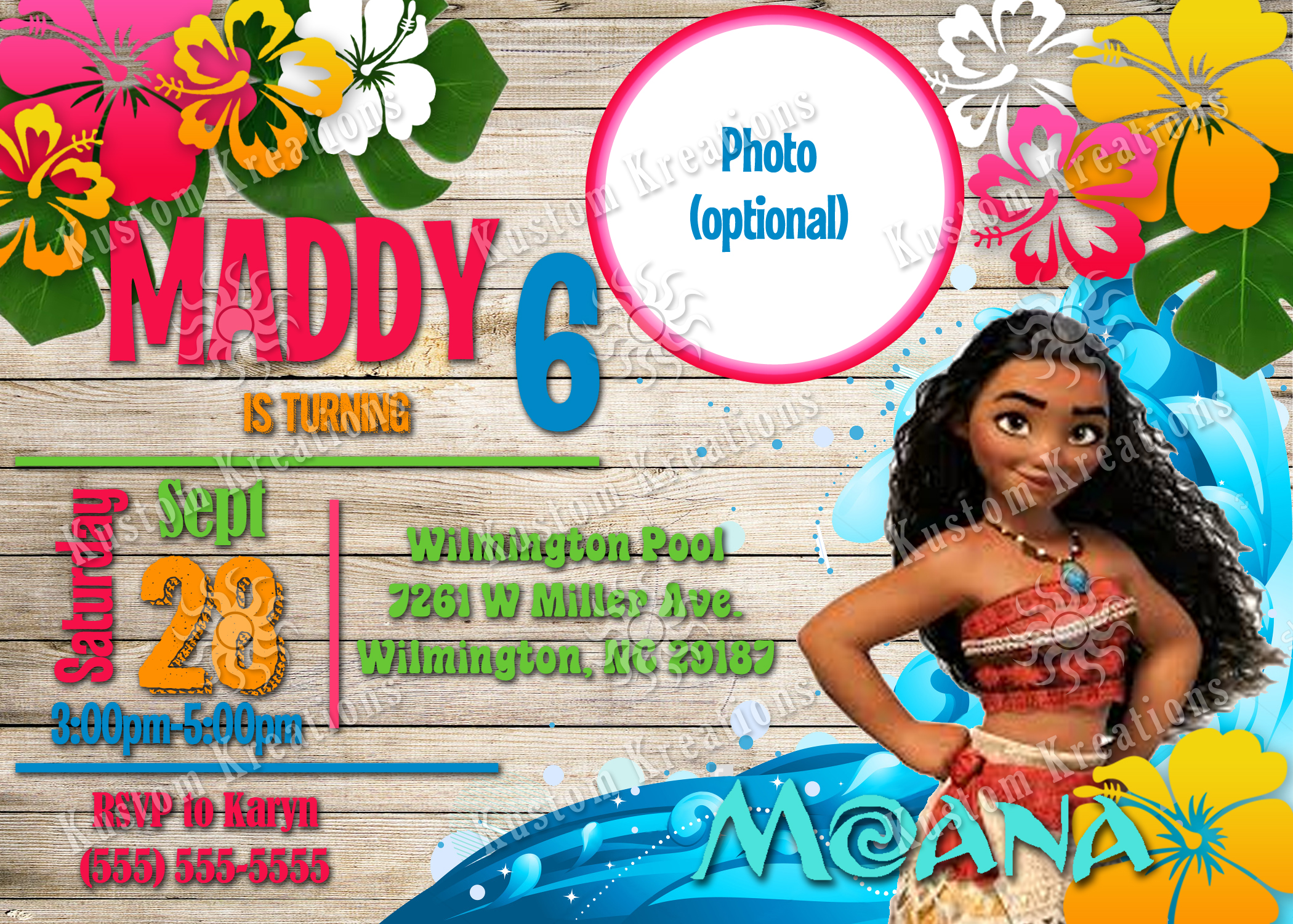 photo relating to Free Printable Moana Invitations named Moana Printable Invites - Anarchistshemale