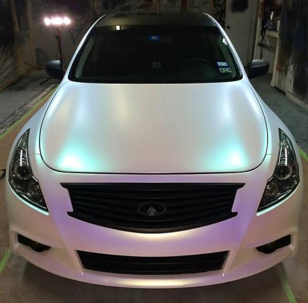 White Pearl Car Paint Colors