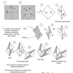Kusudama Ball Diagram 1998 Ford Mustang Ac Wiring Me Modular Origami Radianta Unit