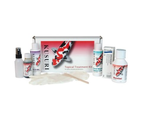 Kusuri 8 Piece Topical Treatment Kit for Koi Carp