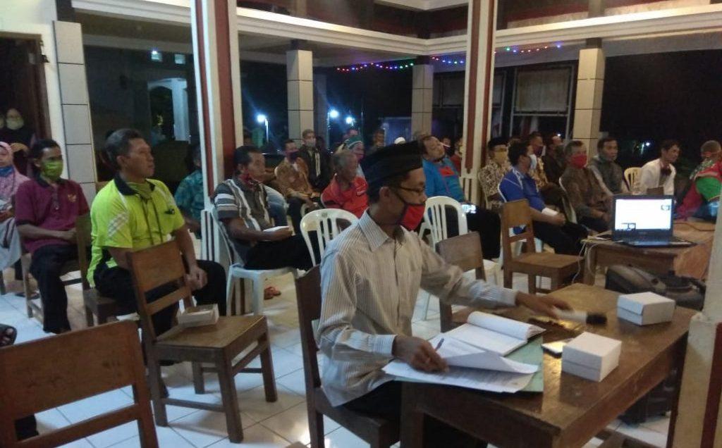 Musyawarah Desa Khusus Penetapan Calon Penerima BLT DD
