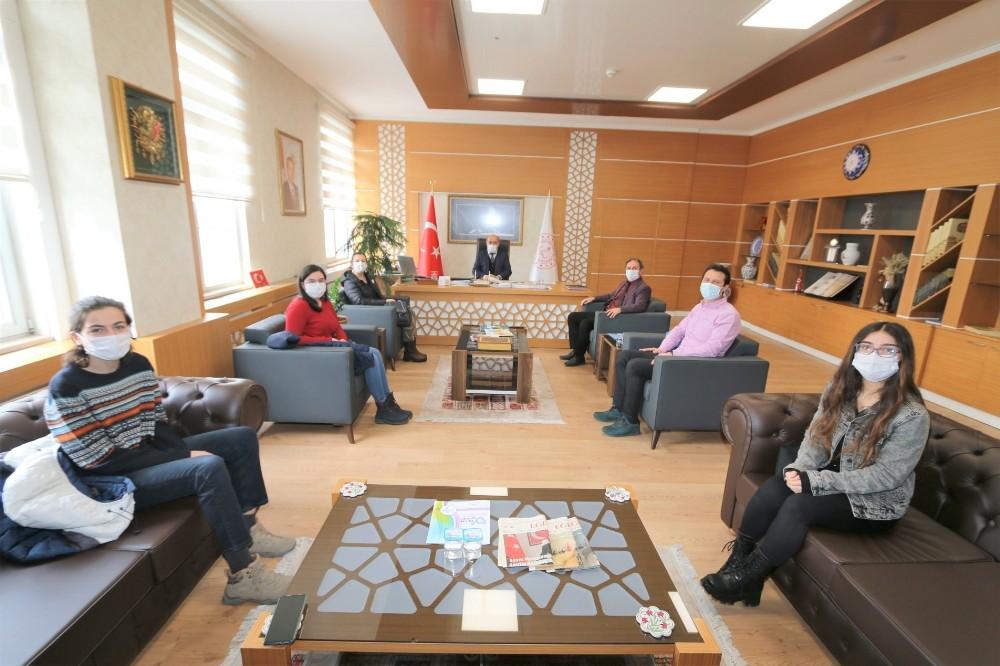 Kütahya İl Milli Eğitim Müdürlüğüne proje tanıtım ziyareti