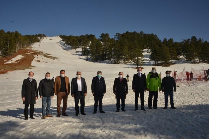 Başkanlar Murat Dağ'ında buluştu