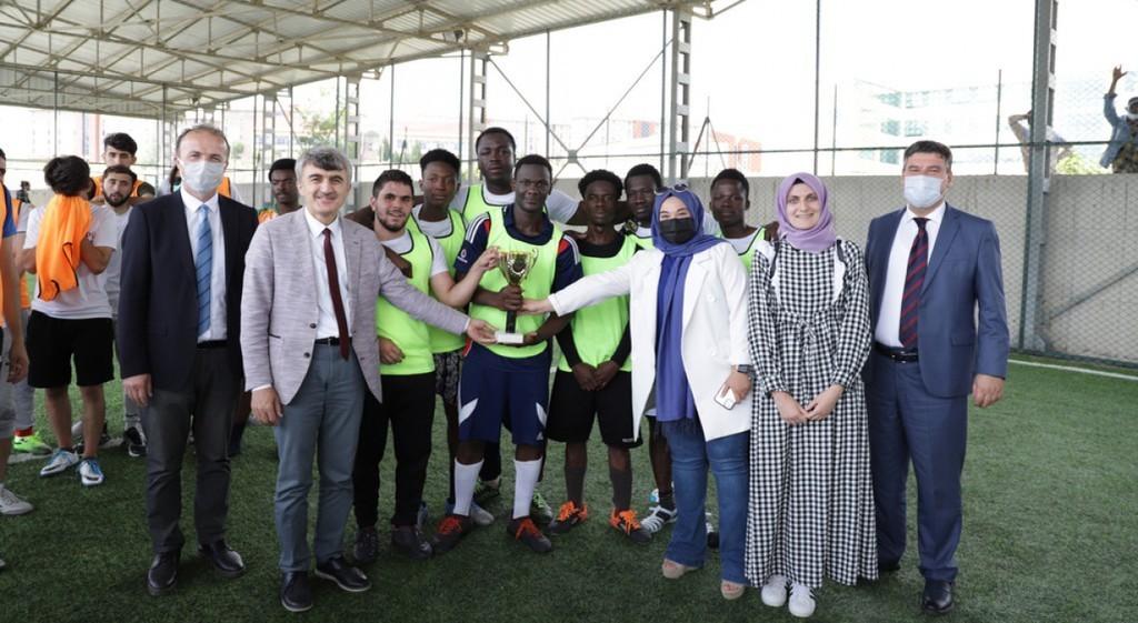 DPÜ TÖMER'den Futbol Turnuvası