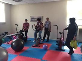 Lise pansiyonuna ''Fitnes salonu''