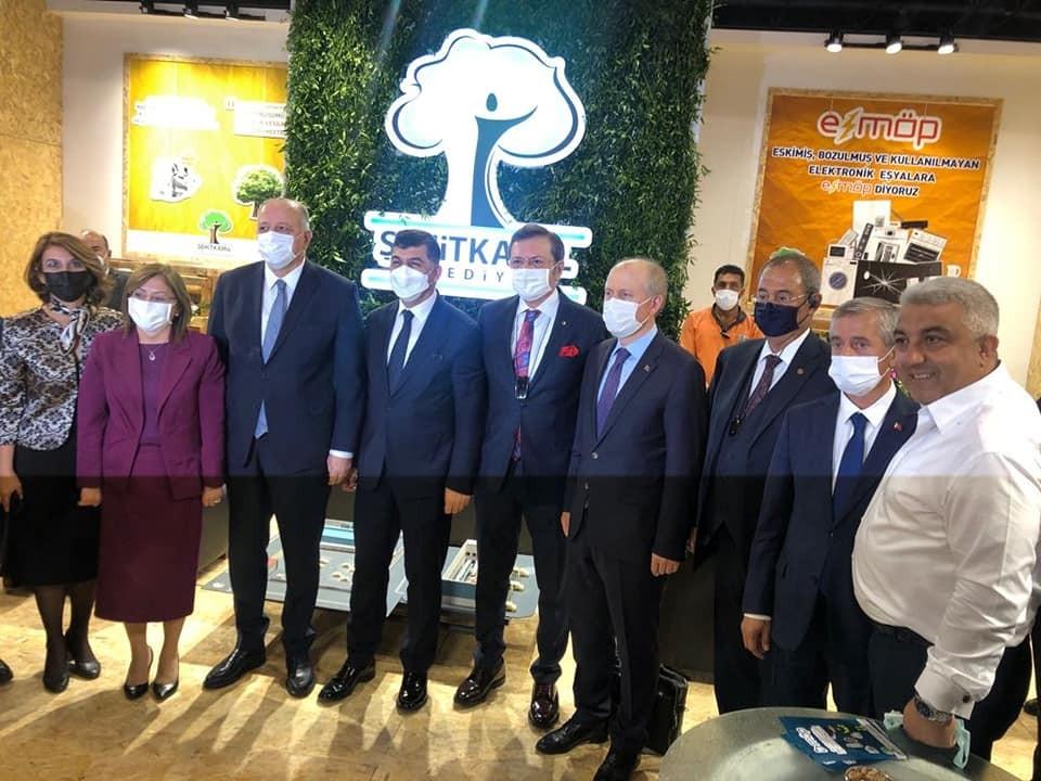 Emet ve Hisarcık belediye başkanları, Expobel Çevre, Şehircilik ve Teknoloji Fuarı'nda