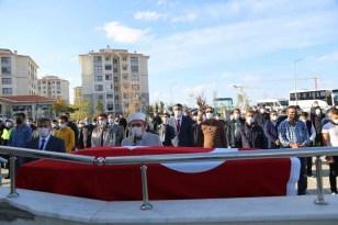 Şehit babası Halil Erkul ebediyete uğurlandı