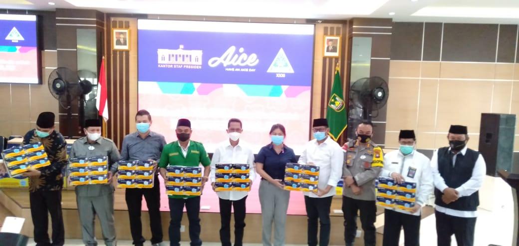 Aice Group Bersama KSP dan GP Ansor