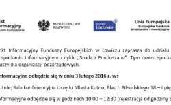 Spotkanie o funduszach dla NGO
