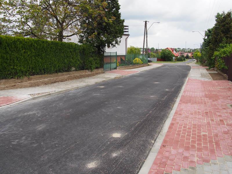 Ulice i drogi z nową nawierzchnią