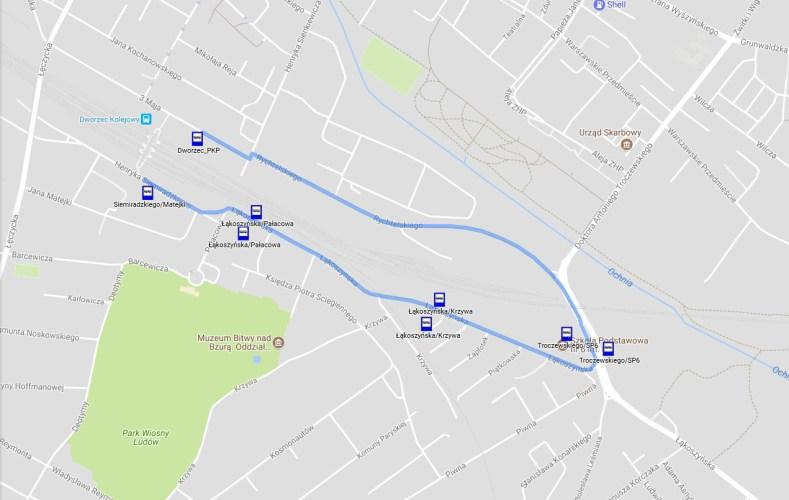 Zamknięty tunel - autobus raz na godzinę
