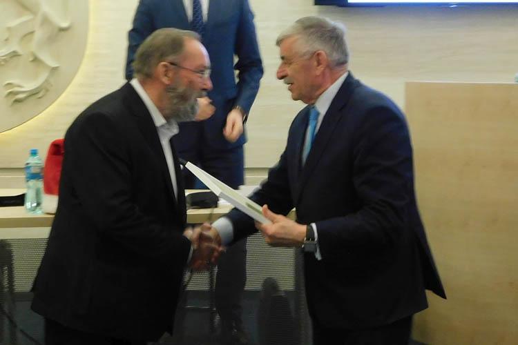 Tadeusz Kacalak uhonorowany za dokonania artystyczne