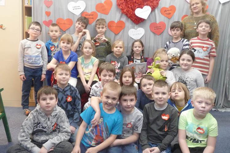 Szkoła Podstawowa nr 2: Walentynki w bibliotece!