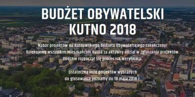47 projektów złożonych do budżetu obywatelskiego