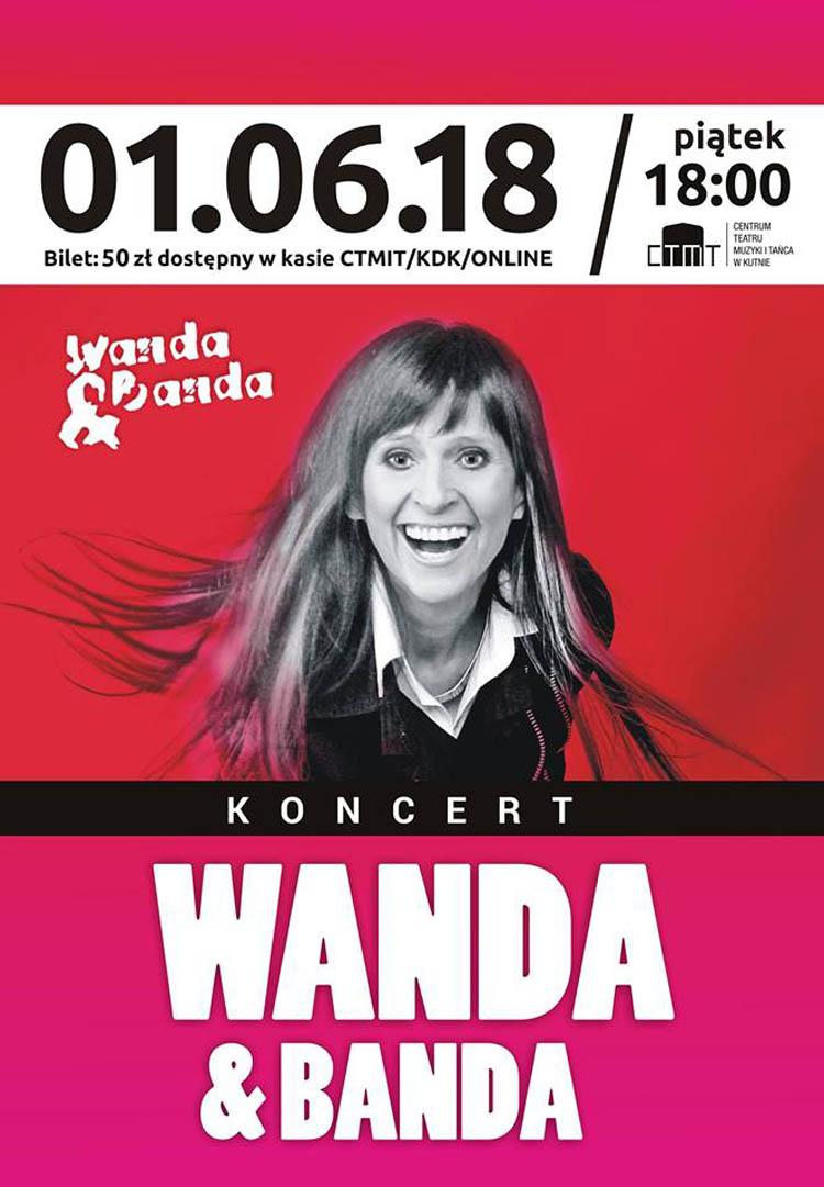 Koncert zespołu Wanda i Banda