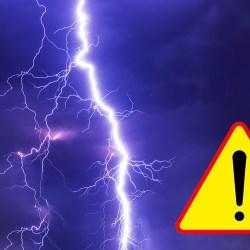 Dzisiejsze burze mogą być niebezpieczne
