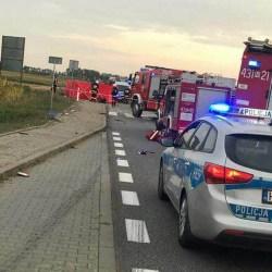 Śmiertelny wypadek na ,,sześćdziesiątce'' w Holendrach