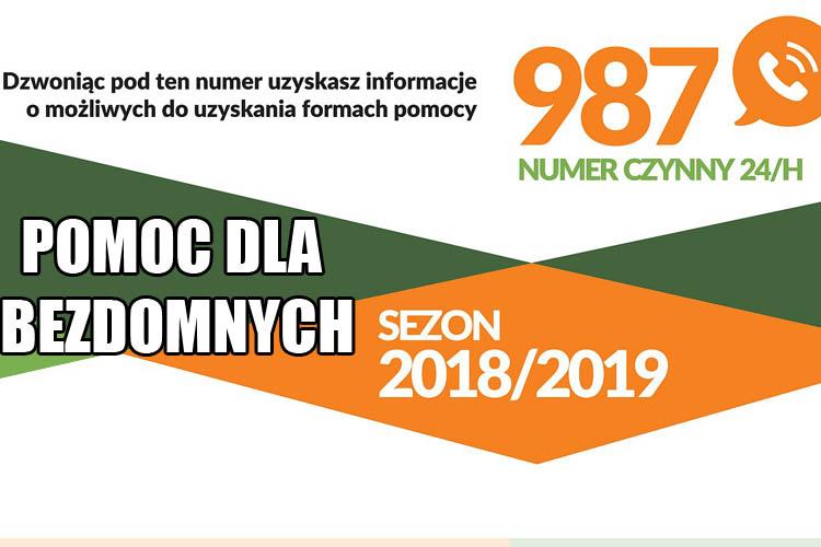 Tel: 987 - wszystko o pomocy zimowej dla bezdomnych