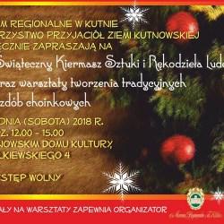 Coraz bliżej święta: świąteczny kiermasz w sobotę