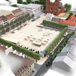 Rozstrzygnięto przetarg na budowę Placu Wolności
