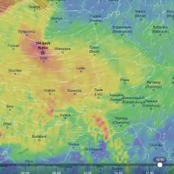 Czeka nas niebezpieczne popołudnie - wiatr do 100 km/h