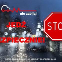 Zimowa akcja policji: Nie zabijaj - jedź bezpiecznie