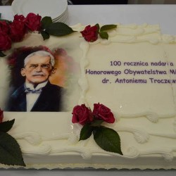 Dr Troczewski honorowym obywatelem od 100 lat