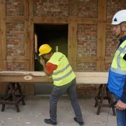 Co widać i słychać na budowie Pałacu Saskiego?