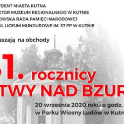 W niedzielę obchody rocznicy Bitwy nad Bzurą