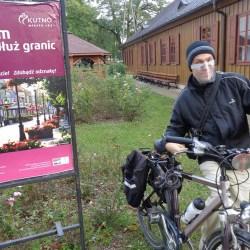 Zwiedzali Kutno rowerem wzdłuż granic miasta