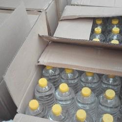 Łódzka KAS przekazała nieodpłatnie zajęty alkohol do dezynfekcji