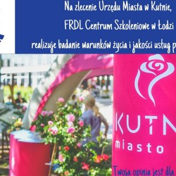 Miasto Kutno bada warunki życia i jakość usług publicznych