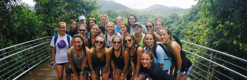 Girls soccer team spending time sightseeing in Costa Rica Credit: Shannon Brown