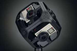 The 360-degree camera Photo courtesy of KeanLift