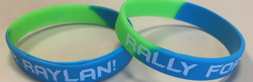 Wristbands for fundraiser  Photo Courtesy of Leslie LaFronz
